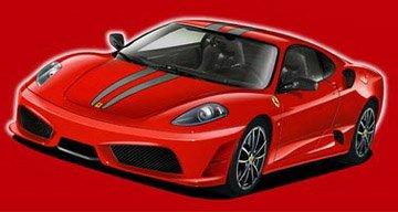 12336 1/24 Ferrari F430 Scuderia