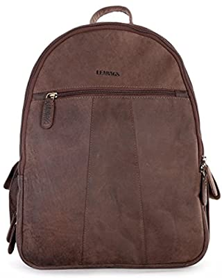 LEABAGS NEWARK Vintage Style Genuine Buffalo Leather Camera Bag for SLR/DSLR Cameras and Accessories