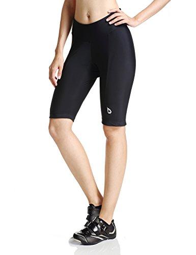 Women's Cycling Padded Shorts Black UPF 50+ Size XS