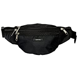 Aoking Black Waist Pouch Belt Multipupose