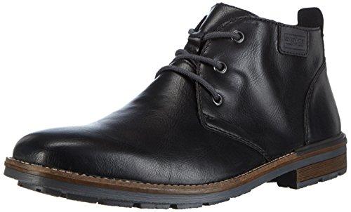 Rieker B1340 - Stivali Desert Boots Uomo, Nero (schwarz/granit / 00), 42 EU