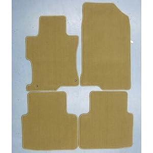 2008 2009 2010 2011 genuine oem honda accord 4 door sedan carpet ivory floor mats. Black Bedroom Furniture Sets. Home Design Ideas