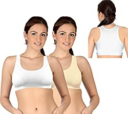 Selfcare Set Of 2 New Racerback Design Women's Sports Bras