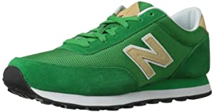 New Balance Classic Traditionnels Green Mens Trainers Size 43 EU