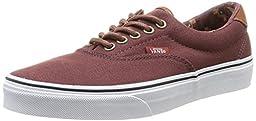 Vans Unisex Era 59 (C&L) Skate Shoe (11.5 D(M) US, C&L Bitter Chocolate/Tribe Rug)
