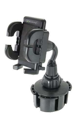 Bracketron UCH-101-BL Universal Cup-iT II Mount with Grip-iT for GPS