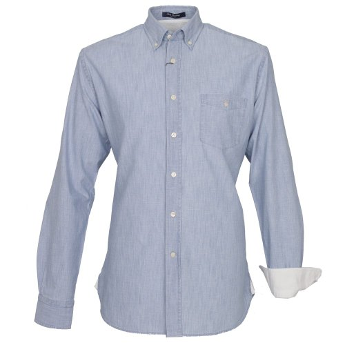 Gant Rally Chambray Casual Fit Shirt X.L