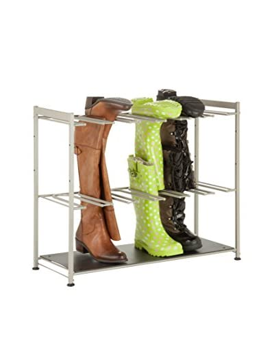 Honey-Can-Do 6-Pair Boot Rack