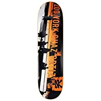 Zoo York Chaz Ortiz Spray Fade 8.0 Skateboard Deck