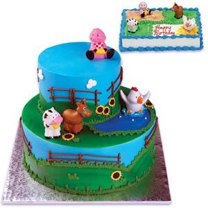 Amazon Farm Animal Cake Toppers