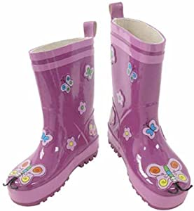 Kidorable Butterfly Welly Boots - Size 10