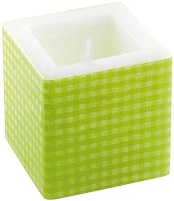 Amscan International 8 Cm Cube Candle Green by Amscan International
