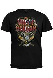 Willie Nelson - Mens Stars & Stripes T-shirt