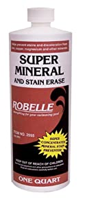 Robelle 2555 Super Mineral and Stain Erase for Swimming Pools, 1-Quart