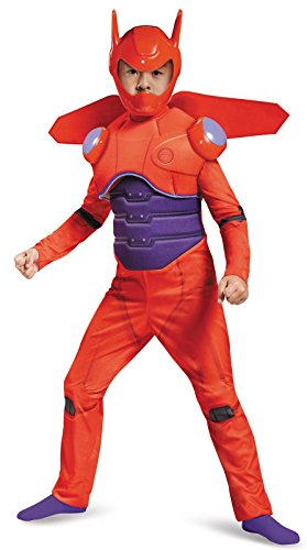 Disguise Red Baymax Deluxe Costume, Small (4-6)