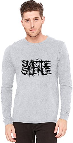 Suicide Silence A maniche lunghe T-shirt Long-Sleeve T-shirt | 100% Preshrunk Jersey Cotton Fashion XX-Large