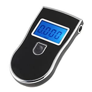 ZhiZhu Prefessional Digital Breath Alcohol Tester Breathalyser