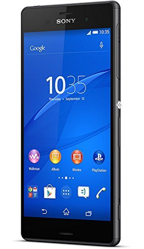 Sony Xperia Z3 D6633 Dual Sim Black 16Gb Ip65/Ip68 Factory Unlocked - International Version - 4G Lte 700(B13)/700(B17)/ 800(B20)/850(B5)/900(B8)/1700|2100(B4)/1800(B3)/ 1900(B2)/2100(B1)/2600(B7) ] No-Warranty