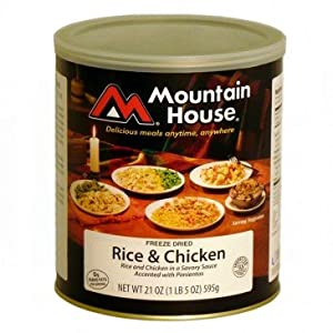 Mountain House Size 10 Can - Rice and Chicken by Mountain House