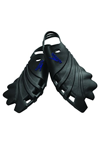 Speedo Nemesis Swim Training Fins, Multi, Medium