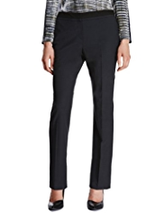 Autograph Two Tone Trousers with Wool