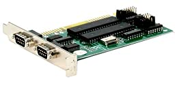 StarTech.com 2-Port ISA RS232 Serial Adapter Card with 16550 UART (ISA2S550) PC, Personal Computer