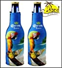 (2) Corona Extra Parrot Beer Bottle Koozies Cooler