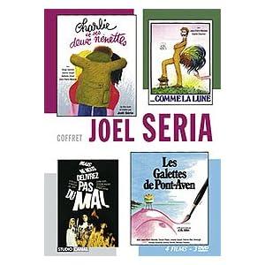 Coffret Joel Seria 4 DVD : Ne nous délivrez pas du mal / Charlie et ses 2 nénettes / Les galettes de Pont-Aven / Comme la lune