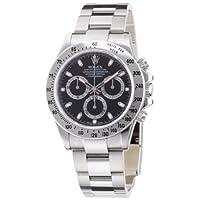 [ロレックス]ROLEX デイトナ ブラック文字盤 クロノグラフ SS 腕時計 Ref.116520 黒 メンズ 【並行輸入品】