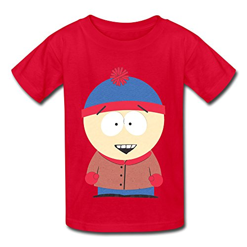 xfshang youth funny quotes short sleeve stan marsh south park t shirt red us size m. Black Bedroom Furniture Sets. Home Design Ideas