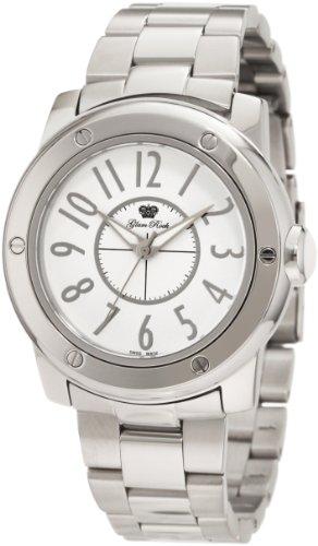Glam Rock GR50008 - Reloj de pulsera mujer, acero inoxidable, color plateado