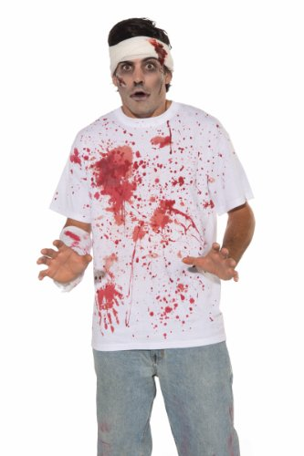 Forum Novelties Men's Bloody Costume Shirt