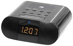 Sylvania Bluetooth Clock Radio Dual Alarm with USB Charging