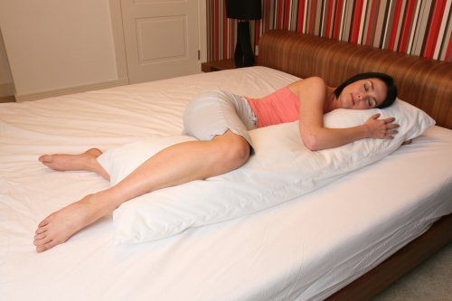 Maternity Back, Leg And Tummy Support Bolster Pillow 150x38cm (59x15 inches) From ExtraComfort. SUPPLIED TO THE NHS!