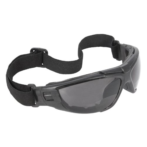 8fa93e84af39 Radians CTB2-115 Radians Cuatro Bi-Focal 4-in-1 Foam Lined Safety Eyewear  with Smoke Anti-Fog Lens Features