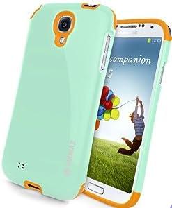 S4 Case, Samsung Galaxy S4, Soft Silicon Case, Anti shock, Good Grip, Premium Slim Fit (Mint)