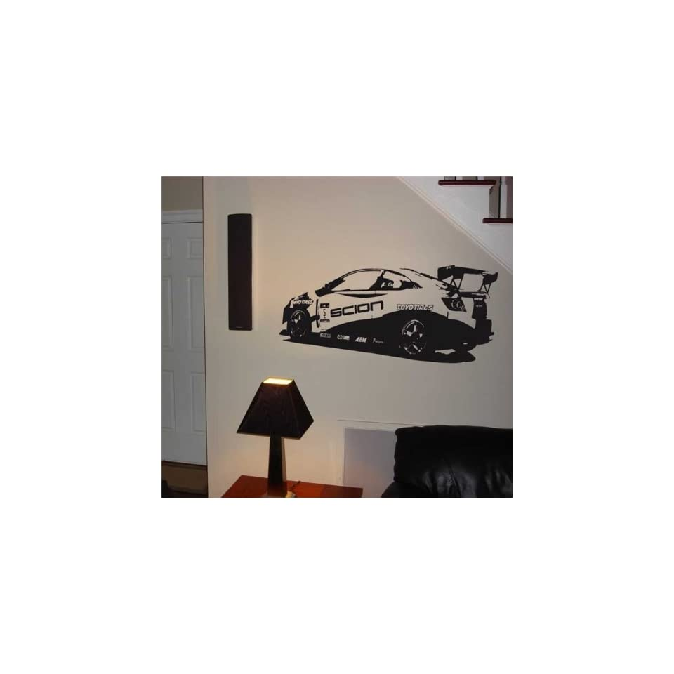 Wall MURAL Vinyl Sticker Car SCION TC RS RALLY 010