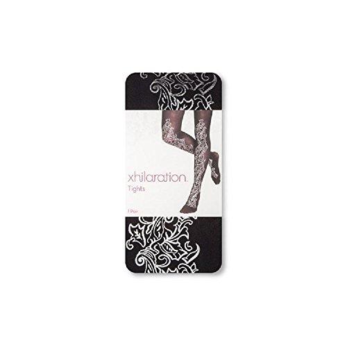 xhilaration-tights-ebony-with-silver-design-s-m