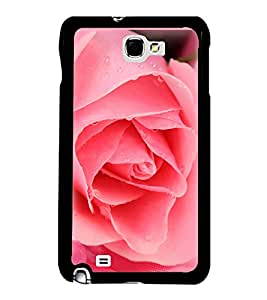 Printvisa Ultra Pink Rose 2D Hard Polycarbonate Designer Back Case Cover for Samsung Galaxy N...