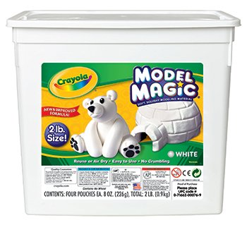 2Lb Resealable Bucket Model Magic Modeling Compound -- Case of 2