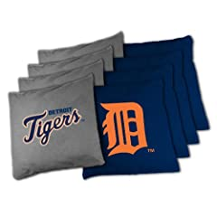 MLB Detroit Tigers X-Large Bean Bag Toss Corn Hole Game by Wild Sports