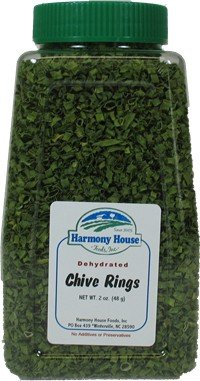 Harmony House Foods Dried Chive rings (2 oz,