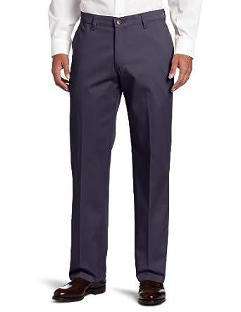 (折扣) 李Lee 型男棉混纺时尚休闲裤Custom Fit Flat Front Pant 多色$17.99