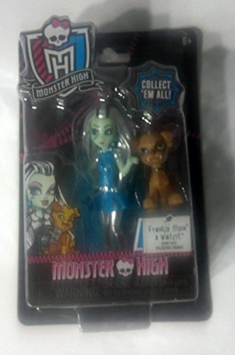 Monster High Frankie Stein & Watzit Scary Cute Collectible Figure