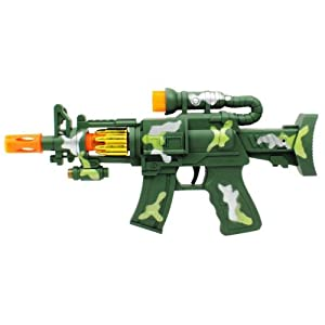 Velocity Toys Mini Super Machine Toy Gun Lights & Sounds Super Power at Sears.com