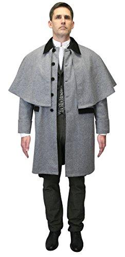 Historical-Emporium-Mens-100-Wool-Coburn-Great-Coat