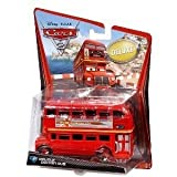 Disney Pixar Cars 2 Oversize Deluxe Diecast - Double Decker Bus