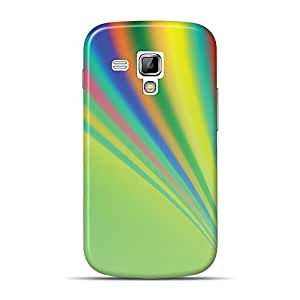 Mobile Back Cover For Samsung Galaxy S duos (Printed Designer Case)