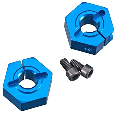 Team Associated 9893 12mm Aluminum Clamping Wheel Hex, Front