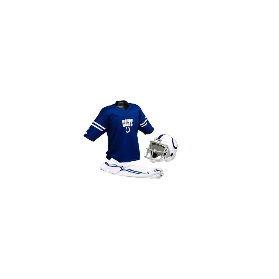 Indianapolis Colts Kids/Youth Football Helmet Uniform Set